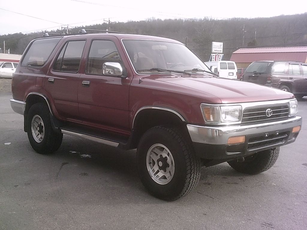1994 Toyota 4runner Sr5 Herb 39 S Quality Used Cars Trucks And Service Berkeley Springs Wv