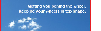 Herbs Auto Tagline: Getting you behind the wheel, keeping your wheel in shape